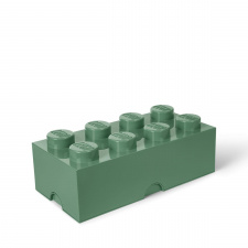 LEGO storage brick 8 sand green