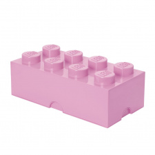 LEGO storage brick 8 light purple