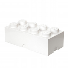 LEGO storage brick 8 white