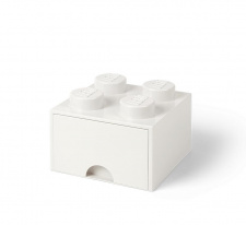 LEGO brick drawer 4 white