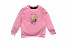 CATWALK CANDY sweater, Fries before guys