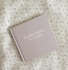Customized notebook / diary