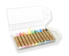 KITPAS crayons large, 12 colours