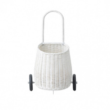 OLLI ELLA luggy basket, white