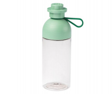 LEGO drinking bottle round, sand green
