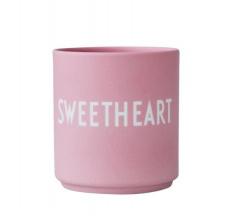 DESIGN LETTERS puodelis SWEETHEART