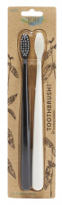The Natural Family Co Bio Brush Twin Pk - Pirate Black & Ivory Desert