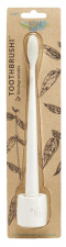 The Natural Family Co Bio Brush & Stand - Ivory Desert
