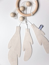 Bisou de Lou dream catcher white