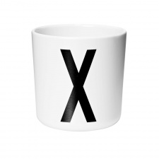 Design Letters cup X