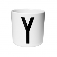 Design Letters cup Y