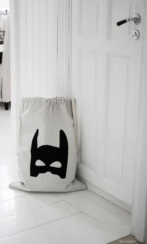 Tellkiddo fabric bag Superhero