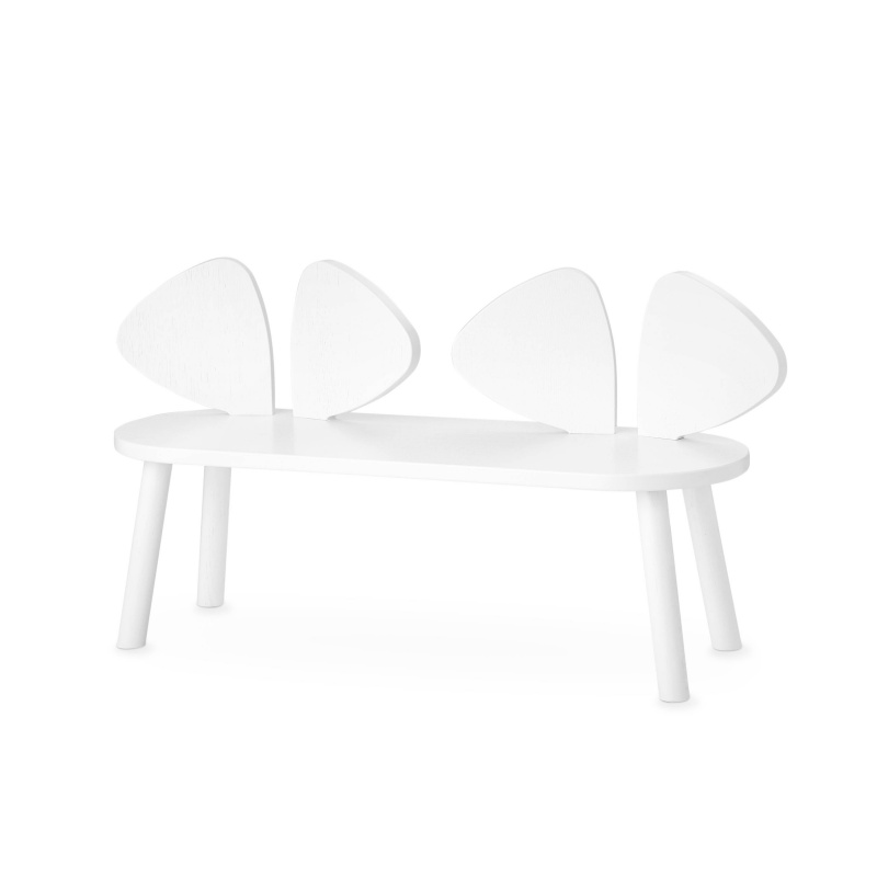 NOFRED mouse bench white