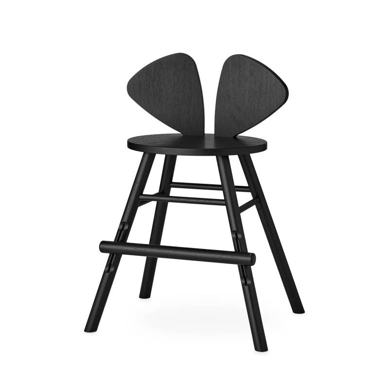 NOFRED mouse chair junior black