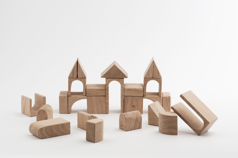 Edu2 Wooden blocks Pilis